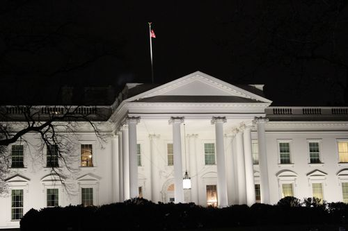 Washington, DC. 2.16.12 and White House 127