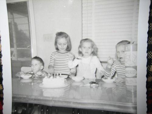 Childhood photos of Kim 014