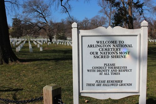 Arlington Cemetary, National Archives, Art WA DC 2.17.12 020