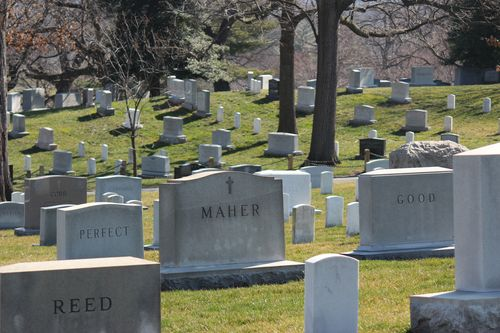 Arlington Cemetary, National Archives, Art WA DC 2.17.12 090