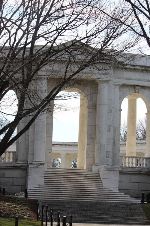 Arlington Cemetary, National Archives, Art WA DC 2.17.12 150