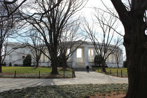 Arlington Cemetary, National Archives, Art WA DC 2.17.12 156
