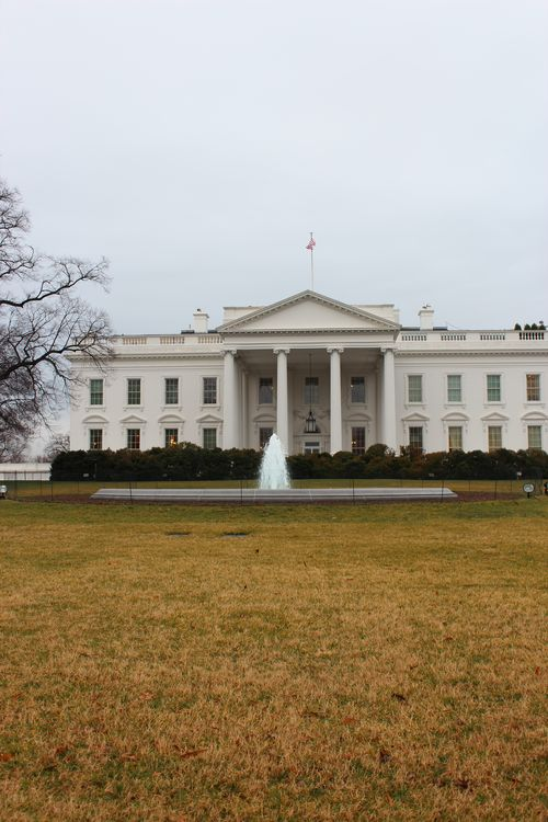 Washington, DC. 2.16.12 and White House 084