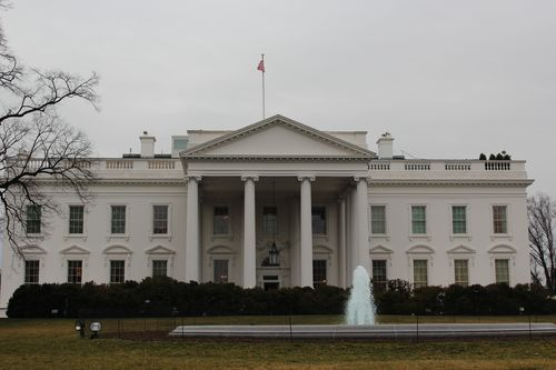 Washington, DC. 2.16.12 and White House 067