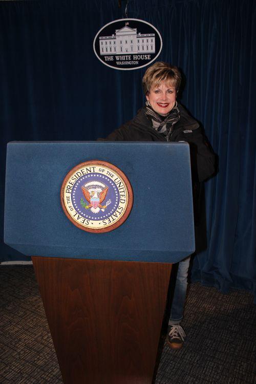 Washington, DC. 2.16.12 and White House 108