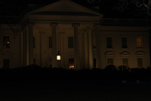 Washington, DC. 2.16.12 and White House 110