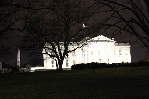 Washington, DC. 2.16.12 and White House 130