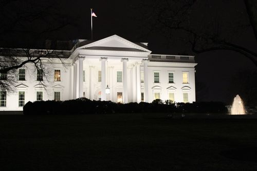 Washington, DC. 2.16.12 and White House 125