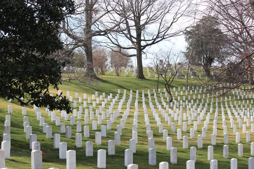 Arlington Cemetary, National Archives, Art WA DC 2.17.12 143