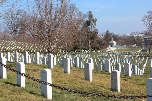 Arlington Cemetary, National Archives, Art WA DC 2.17.12 027