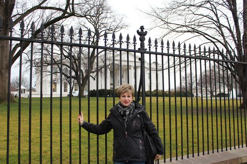 Washington, DC. 2.16.12 and White House 048