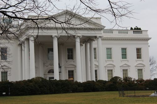 Washington, DC. 2.16.12 and White House 060
