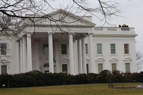 Washington, DC. 2.16.12 and White House 060