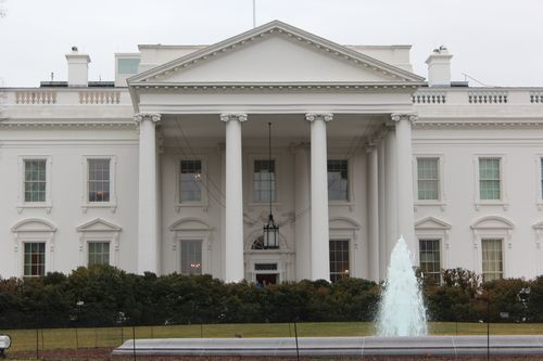 Washington, DC. 2.16.12 and White House 065