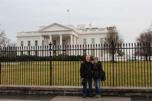 Washington, DC. 2.16.12 and White House 069