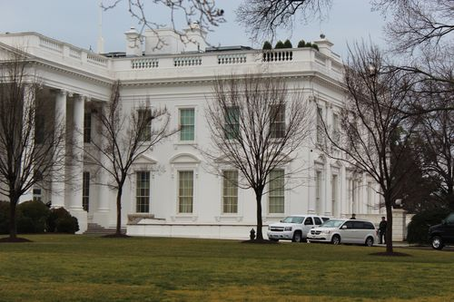 Washington, DC. 2.16.12 and White House 081