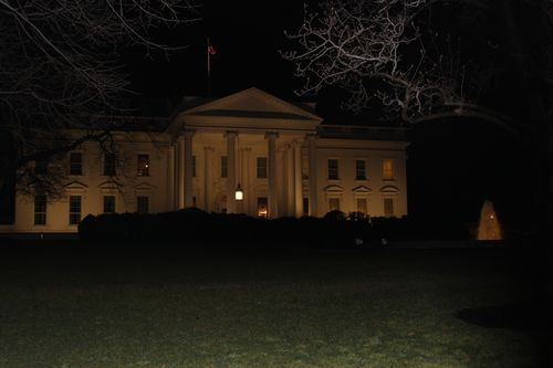 Washington, DC. 2.16.12 and White House 111