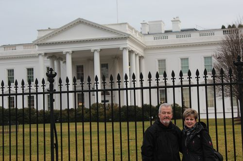 Washington, DC. 2.16.12 and White House 068