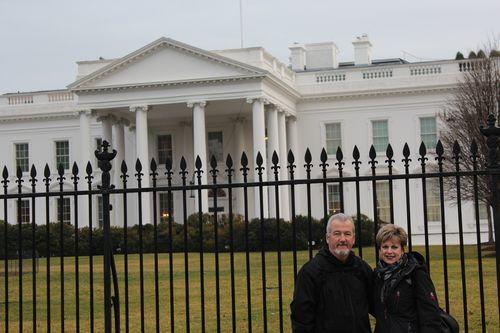 Washington, DC. 2.16.12 and White House 068